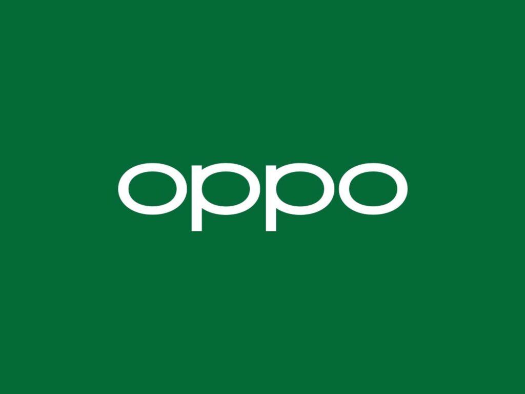 OPPO - Logo Grün