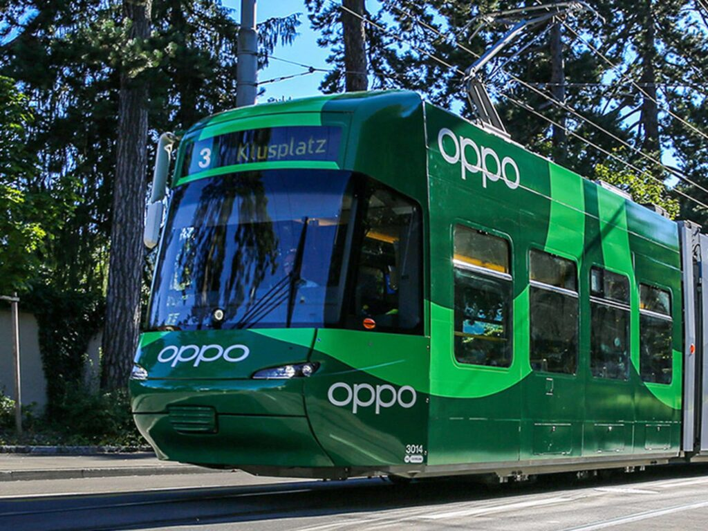 OPPO - Tram Zürich