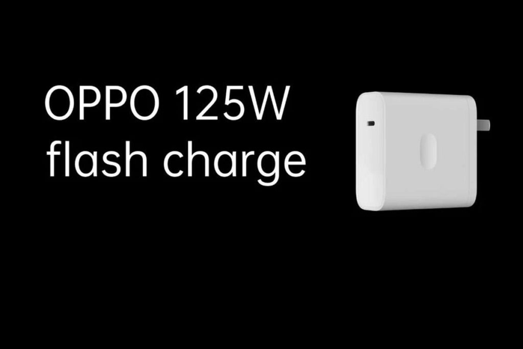 OPPO - 125 W Flash Charge