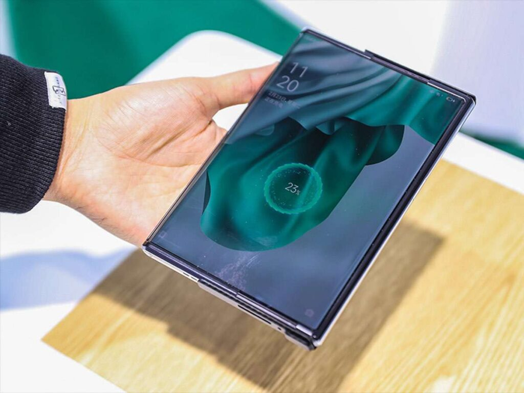 OPPO - Rollbares Display