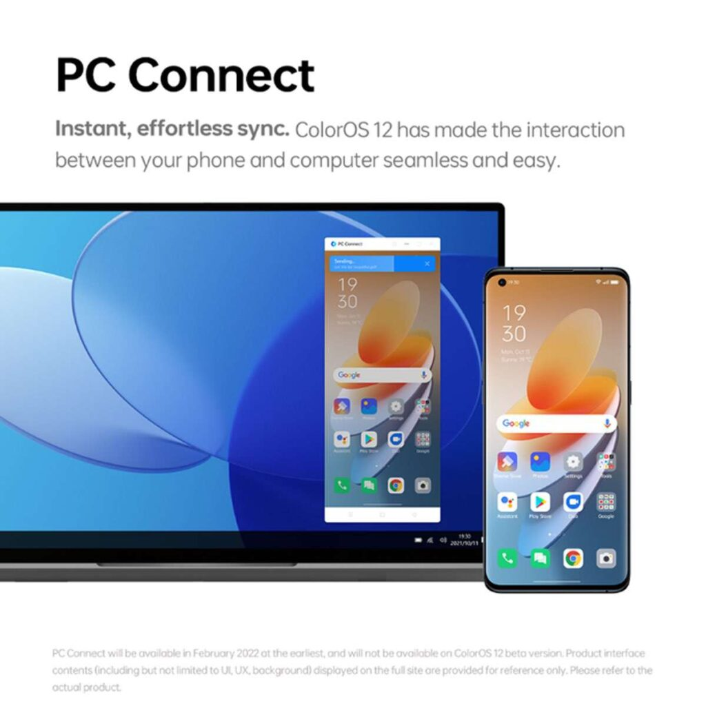 OPPO - ColorOS 12 – PC Connect